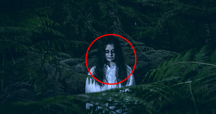 अचानक दिखी चुड़ैल और हो गयी गायब, कमजोर दिल वाले ना देखें वीडियो