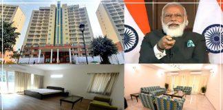 सांसदों के लिए 218 करोड़ रुपये खर्च कर बनाए गए आलीशान फ्लैट्स, देखें कमरें की तस्वीरें