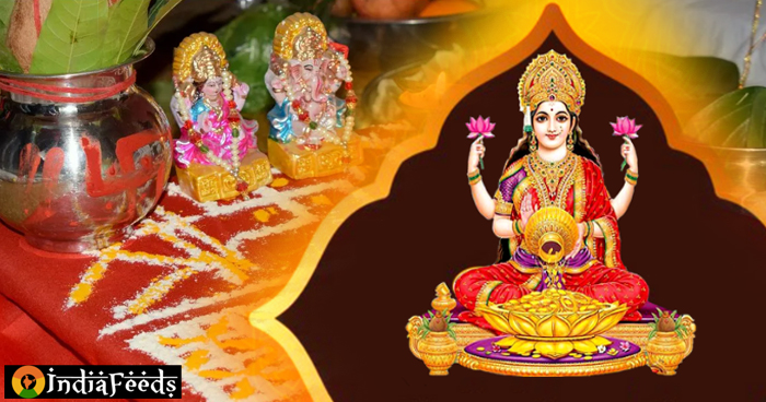 लक्ष्मी पूजा के दौरान इन 6 चीजों का लगाएं भोग, घर में आएगी सुख-समृद्धि, गरीबी रहेगी कोसों दूर