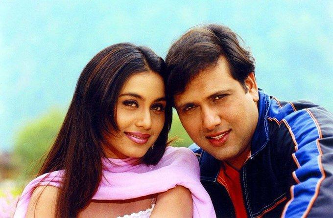 govinda and rani mukerji love story