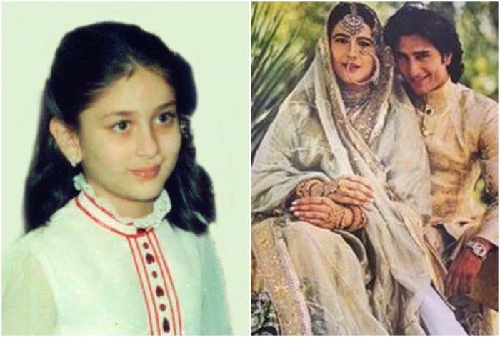 kareena in saif ali khan and amrita singh wedding
