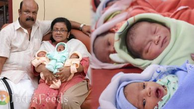 55-year-old-woman-gives-birth-3-children-in-kerala