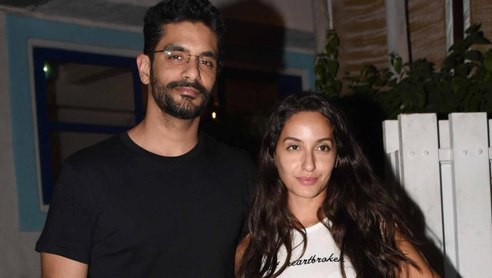 angad bedi and nora fatehi