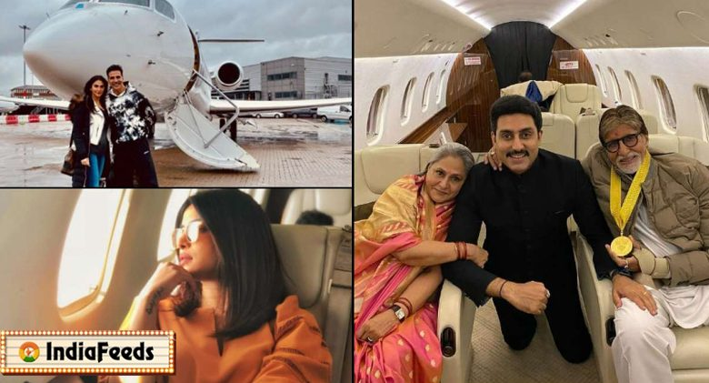 bollywood star private jet