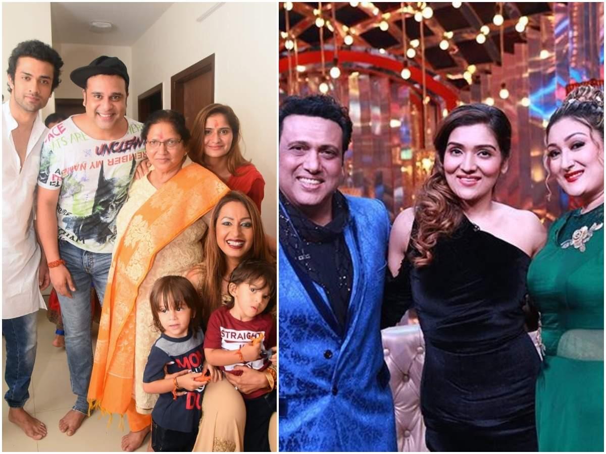 govinda with family