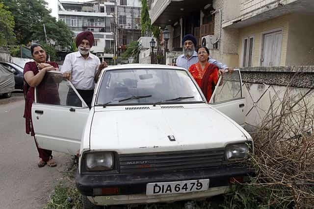 harpal singh and his car