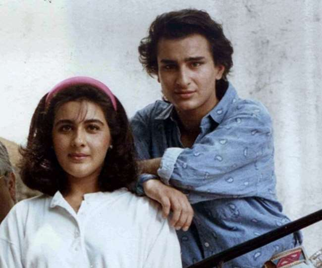 amrita and saif ali khan