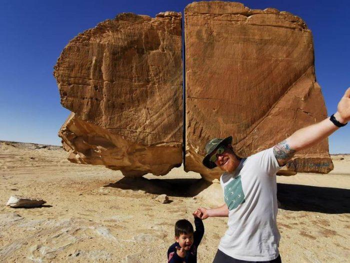 rock of al naslaa