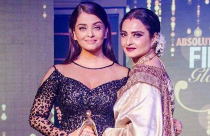 rekha and aishwarya